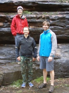 the next day we explore Alligator Gorge with Kain and Angelo