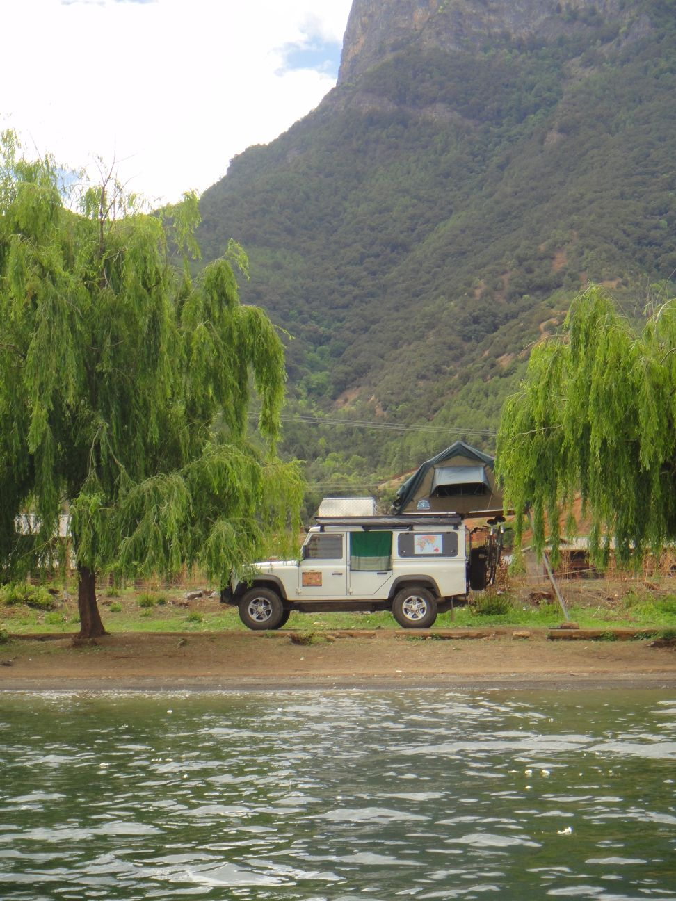 campsite at Lugu Lake