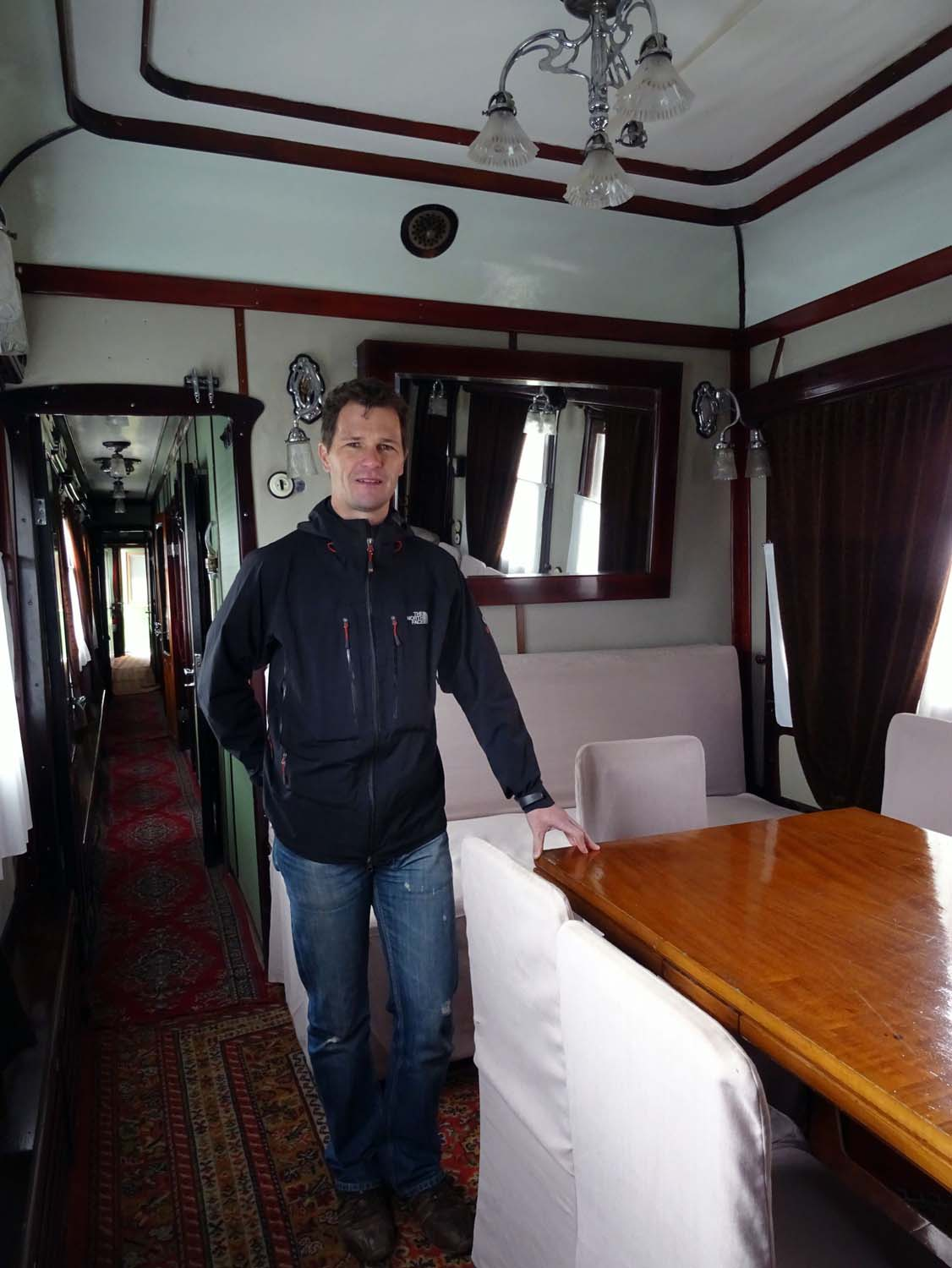 inside Stalin's personal train
