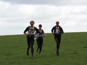 team Woop Woop getting back from an orienteering section