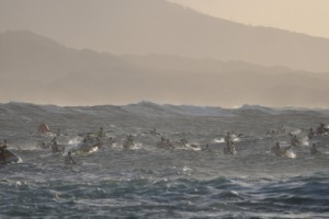 quite a rough ocean
