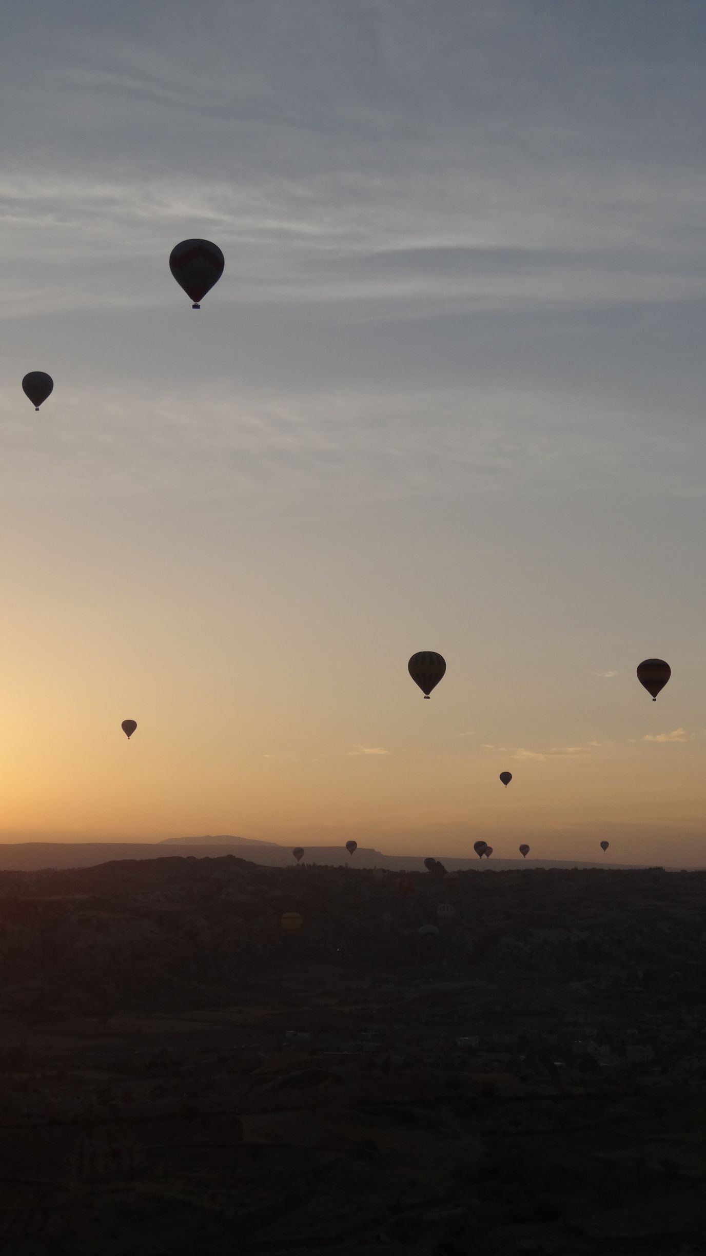 Cappadocia - best spot in the world for a hot air balloon flight