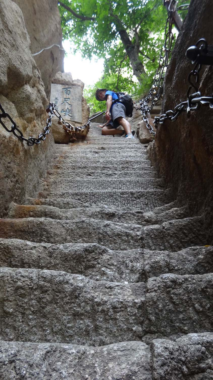 more steep steps