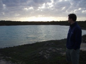 Jon at sunset
