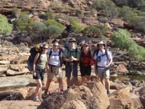 Kat, Dymph, Jon, Jude and Graham