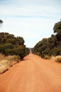 love the red roads on Kangaroo Island