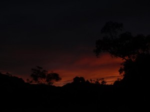 sunset in the Kimberley