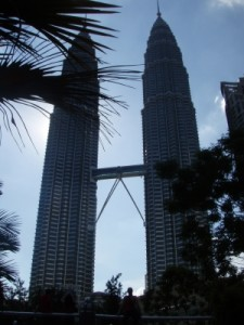 twin towers of KL