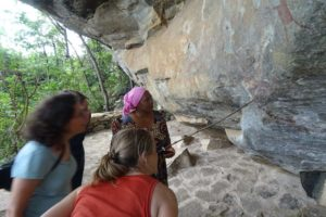studying some more rock art in Kondoa
