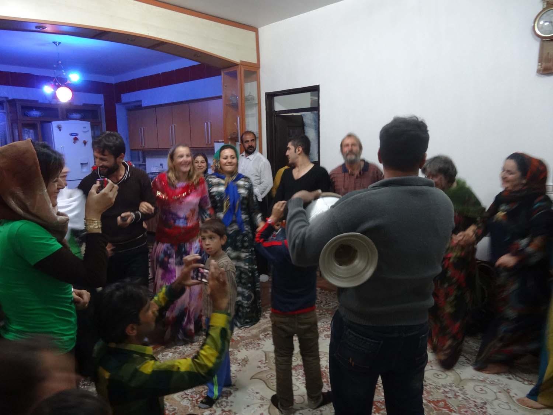 Kurdish Jude joins the dancing, a fantastic night