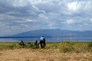 Jon at our first lunch spot in Lake Manyara NP
