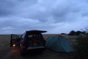 our stunning campsite (Lake Shore special campsite) at Lake Manyara NP, all to ourselves