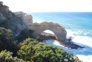 arch on the Great Ocean Road
