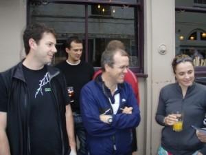 Muz, Ian and Jude