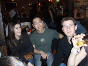 Julie, Vic and Richard