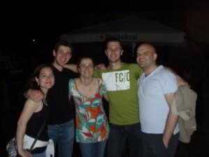 Victoria, Richard, Jude, Jon and Luke
