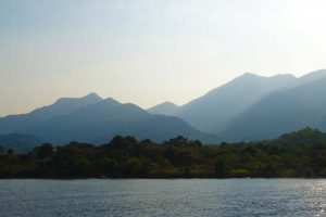 the stunning mountains of Mahale NP in the west of Tanzania are the home of many chimpanzee families