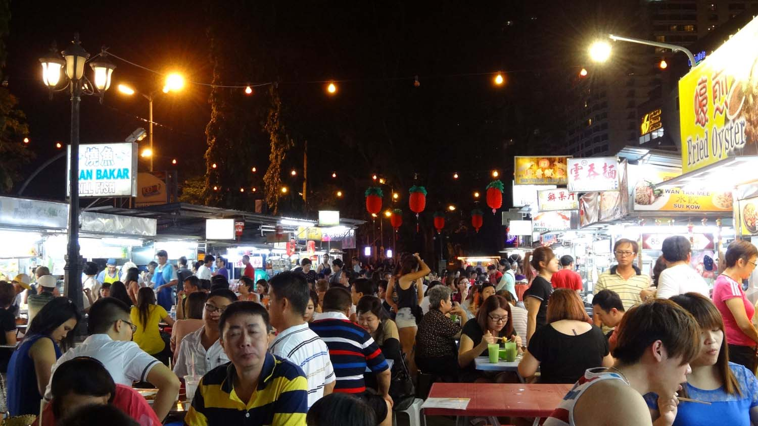 best Malay food in the Penang street stalls