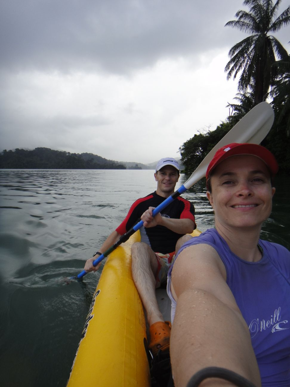 first time we used our kayak