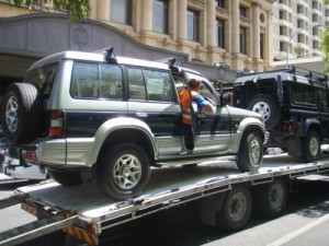 and the Pajero
