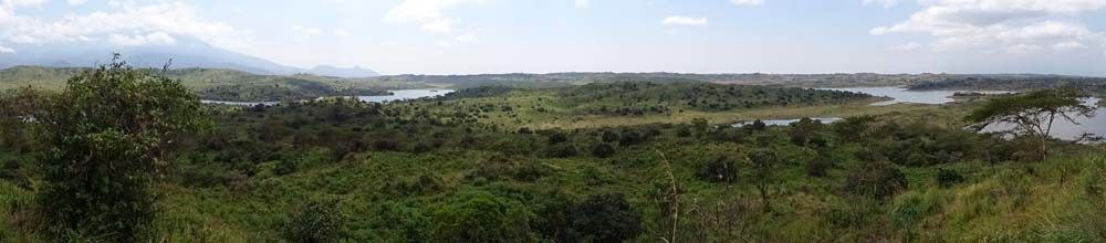 view of Arusha NP