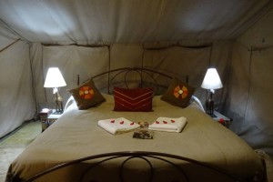 now this is glamping...!