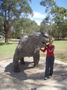 yep, this used to walk around in Australia