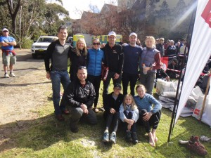 the whole crew - Jon, Debbie, Jude, Mike, Todd, Olga, Joel, Jules, Greta and Rachel