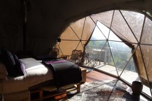 our room in the Ngorongoro Highlands