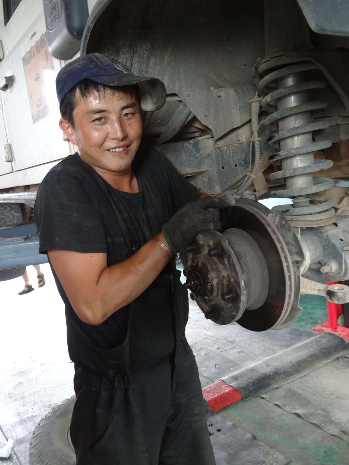our main mechanic