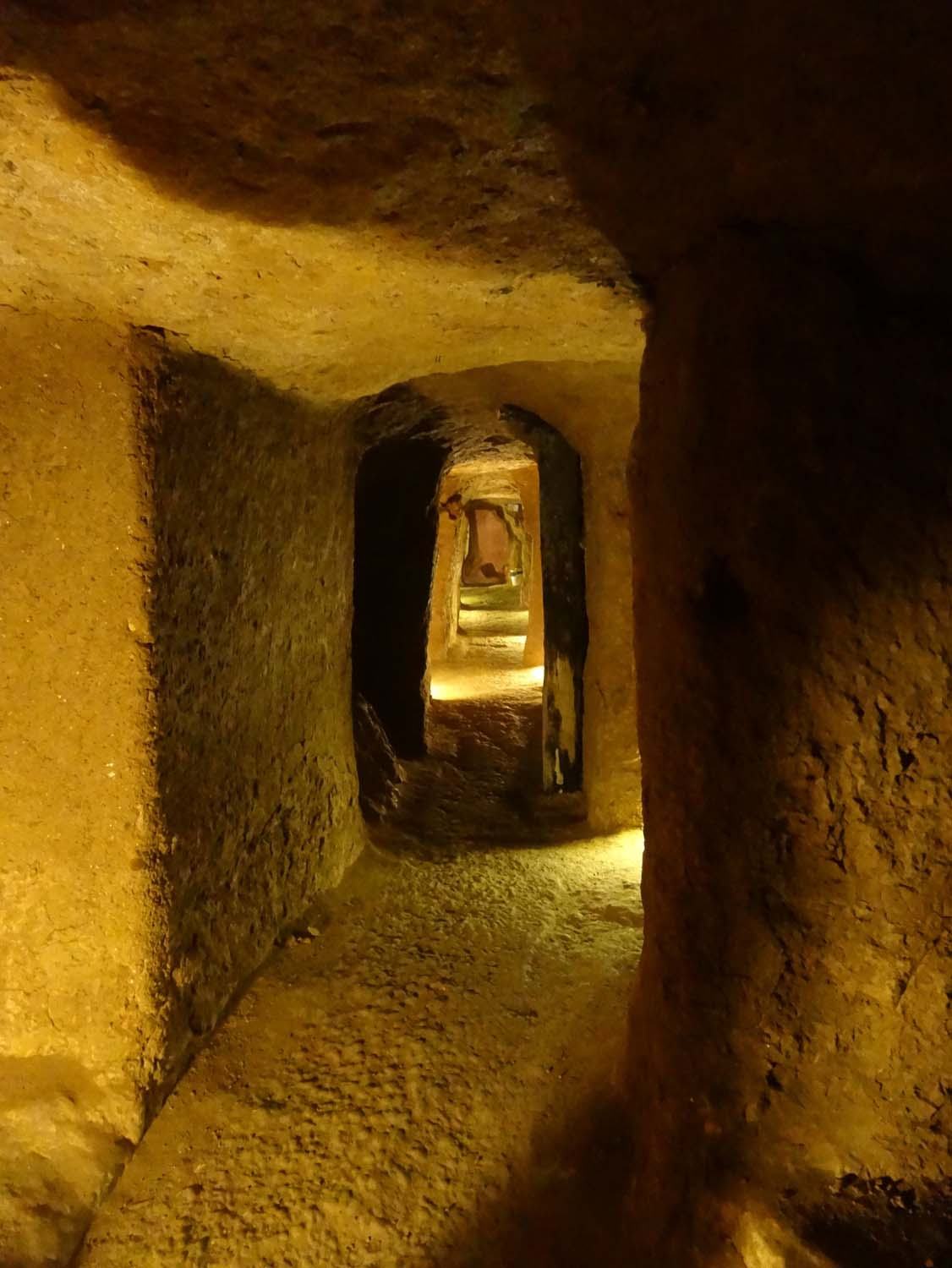 underground city in Nushabad
