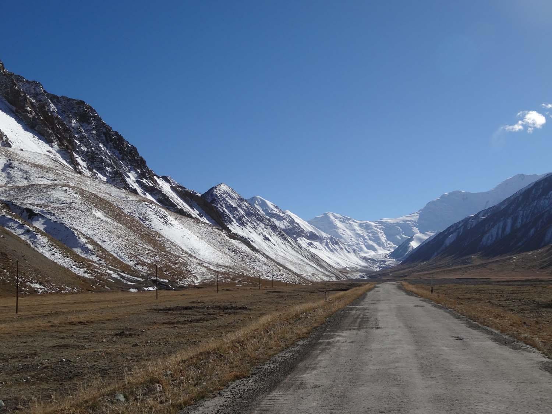 driving towards Tajikistan, Pamir Highway here we come!
