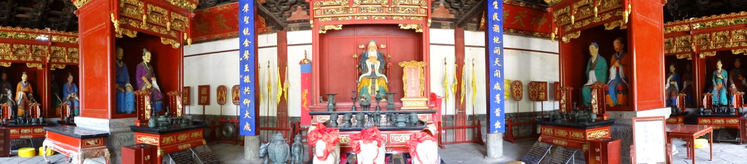 Buddhist temple in Jianshui