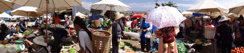 Market near Dali