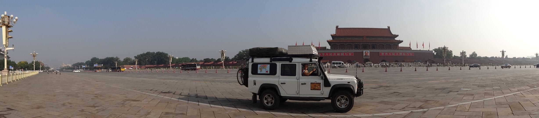 Forbidden City and Tiananmen Square in Beijing
