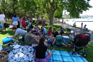 picnic at Matilda Bay now seems to be the favourite meeting options for most of our friends in Perth!