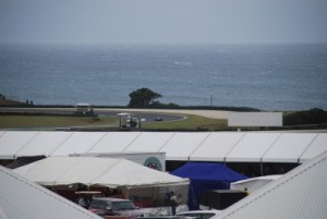 Philip Island has a stunning setting for racing