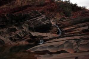 amazing waterfall in Hamersley Gorge