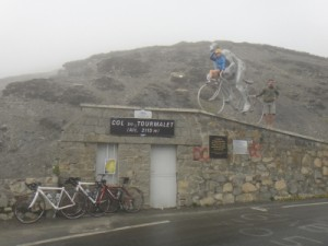 top of the Col de Tourmolet