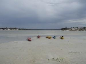 our kayaks