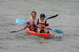 we struggle to move forward when in the boat and it is very cold