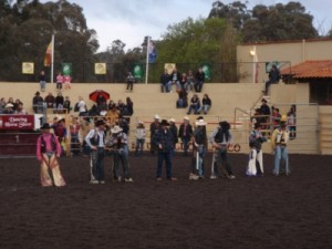 the line up of cowboys