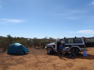 our camp site on Alpana Station