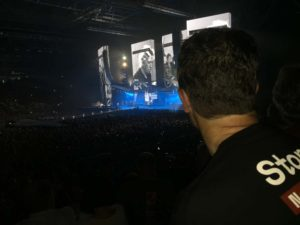 Jon finally enjoying a Rolling Stones concert live!