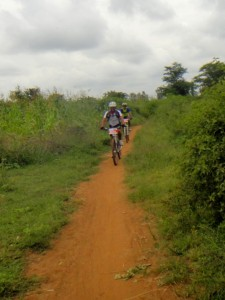 Farook and Shafiq on some more single track