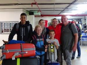 Sandra, Peter, Jessie, Niels & Jens arrive!