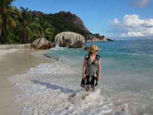 Jude on Anse Source d'Argent