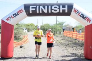 we ran together and finished the Shompole marathon together