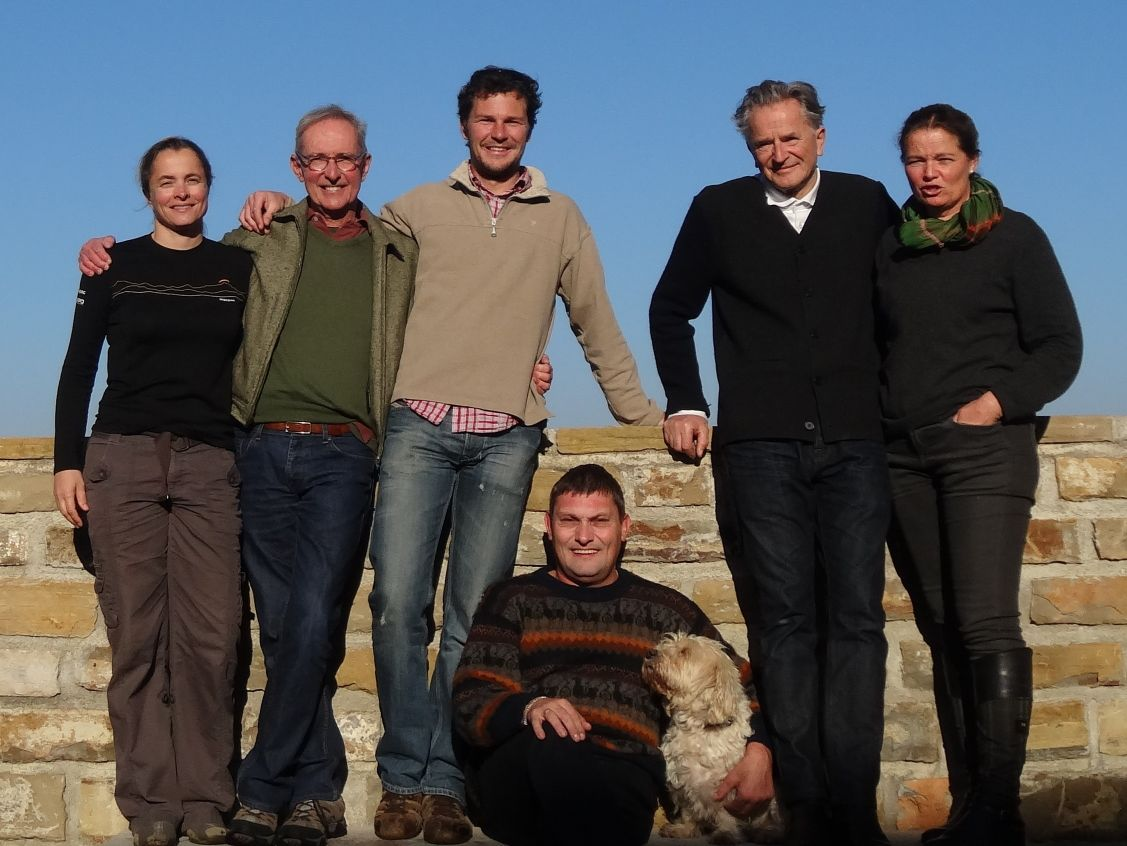 with Astrid and Folke, Zorko, Charles and ChoCho in Piran. We were made to feel so welcome, we didn't want to leave