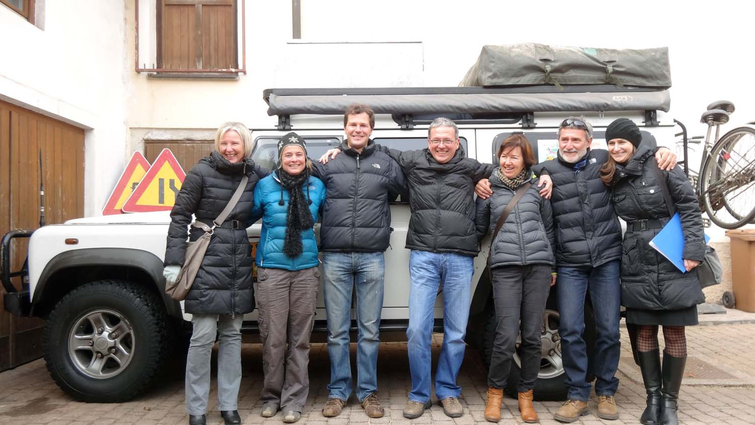 Petra, Lojze, Majda, Milos and Anna - just some of our wonderful new friends in Škofja Loka.